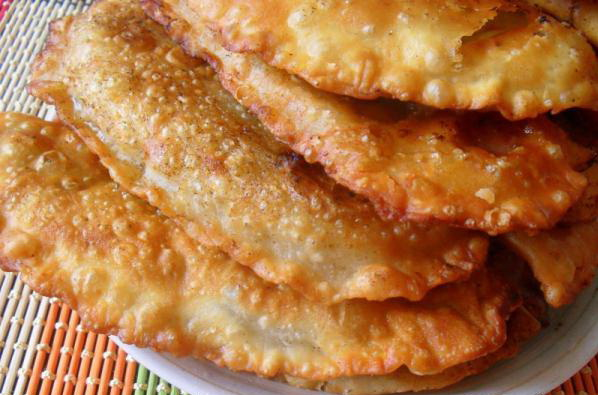 Чебуреки рецепт фото тесто мясо