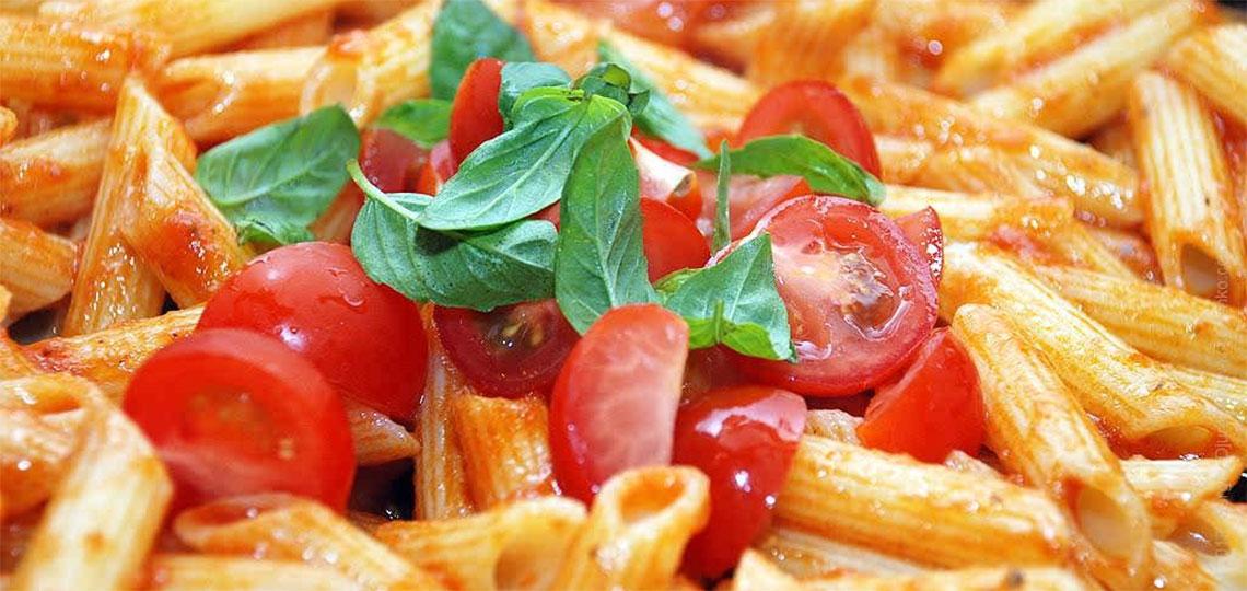 макароны с помидорами рецепт с фото