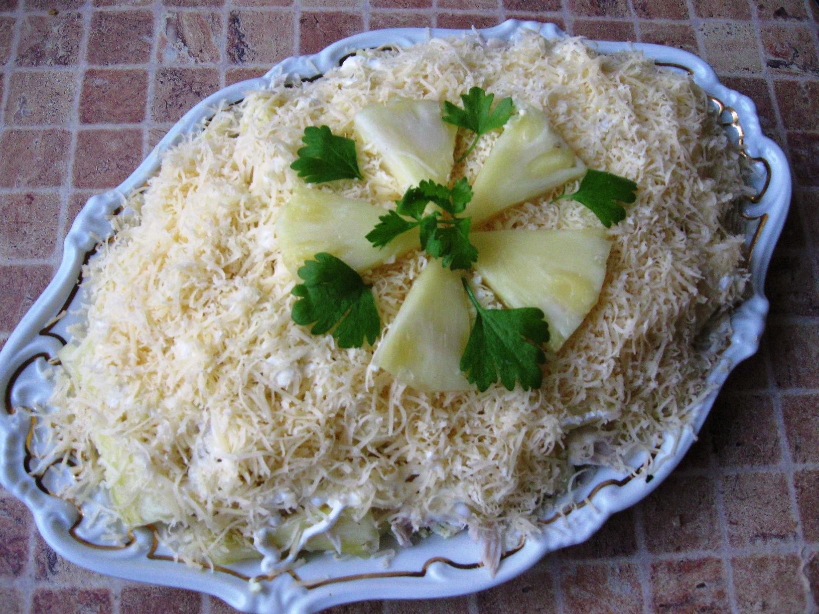 С ананасом рецепты простые и вкусные