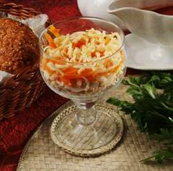 салат коктейль павлинка рецепт